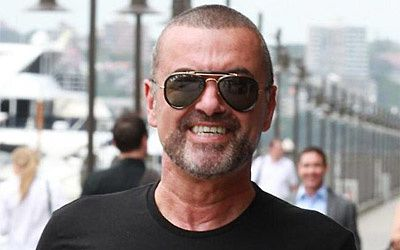 george michael smile